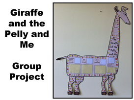 the giraffe and the pelly and me group project