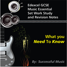 edexcel gcse music essential set work study and revision notes