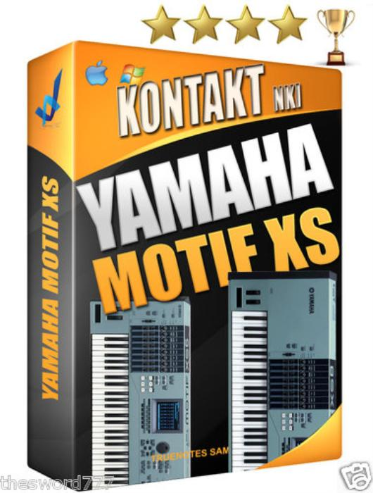 Third Additional product image for - Yamah Motif XS sounds Kontakt Nki Wav/Fl studio/logic