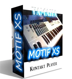 YAMAHA MOTIF XS 8 SOUND KIT  FOR KONTAKT NKI