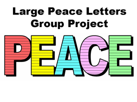 Large Peace Letters Group Project | Documents and Forms | Other Forms