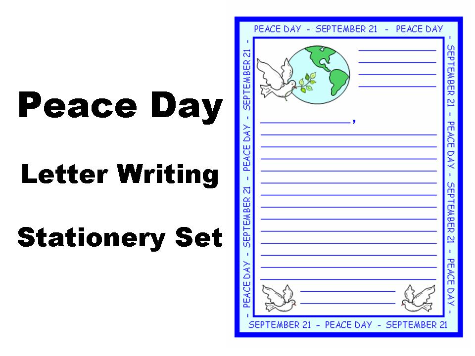 essay on peace day for kids