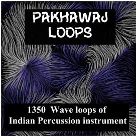 asian pakhawaj drum loops