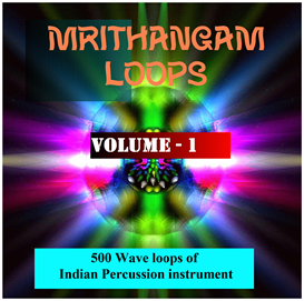 Asian Mrithangam Loops - Volume - 1 | Music | Soundbanks
