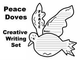 peace doves creative writing templates