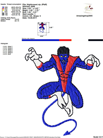 X-Men Embroidery Design   Crafting   Sewing   Other
