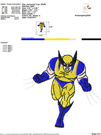 X-Men Embroidery Design | Other Files | Arts and Crafts