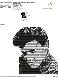 Elvis Presley Embroidery Design | Crafting | Sewing | Other