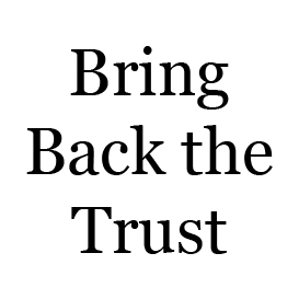 Bring Back the Trust | Audio Books | Religion and Spirituality