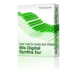 80s Digital Synths - WAV Download | Music | Soundbanks
