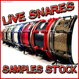 Acoustic Live Snare snares drum drums pop glam rock heavy hard metal grunge 24 bit samples | Music | Soundbanks