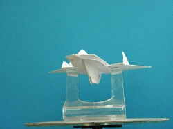 Second Additional product image for - Origami SR-71 Blackbird Tutorial Video