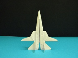 First Additional product image for - Origami F-14 Tomcat Tutorial Video