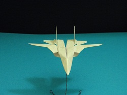 Second Additional product image for - Origami F-14 Tomcat Tutorial Video