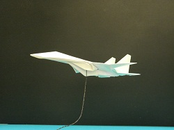 Fourth Additional product image for - Origami F-14 Tomcat Tutorial Video