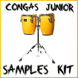 Congas samples vol1 Conga junior reason kontakt logic soundfonts sf2 soundfont latin percussion | Music | Soundbanks