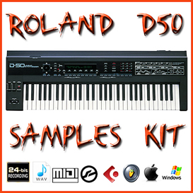 roland d50 samples library native instruments kontakt3/4/5 vintage synthesizer of 1980 samples