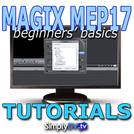 MAGIX Movie Edit Pro 17 Tutorials | Movies and Videos | Special Interest