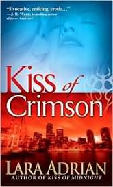 Kiss of Crimson (Midnight Breed Series #2) by Lara Adrian | eBooks | Science Fiction