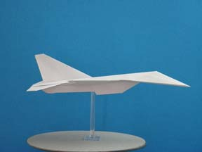 First Additional product image for - Origami F-16 Falcon Tutorial Video