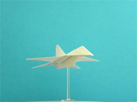 Origami F-16 Falcon Tutorial Video | Crafting | Paper Crafting | Other