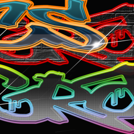 graffiti photoshop  styles
