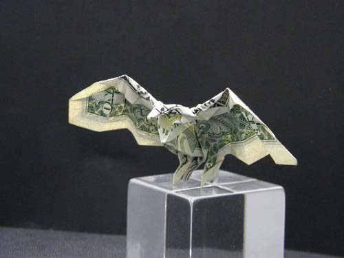 First Additional product image for - Origami Dollar Bill Eagle Tutorial Video