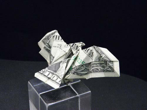 Second Additional product image for - Origami Dollar Bill Eagle Tutorial Video