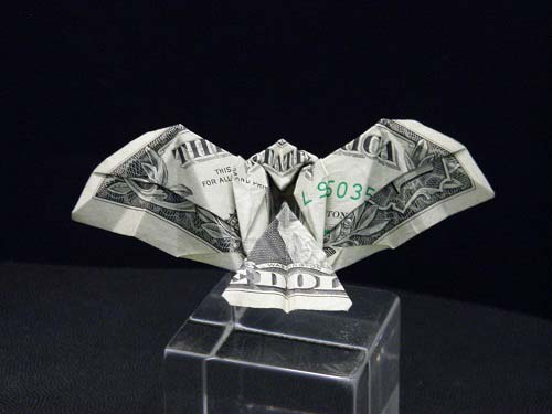 Third Additional product image for - Origami Dollar Bill Eagle Tutorial Video