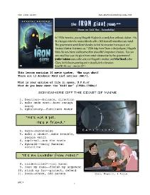 the iron giant, whole-movie english (esl) lesson