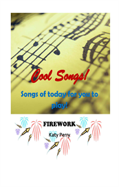 firework - lyrics, chords and keyboard / instrument notation - katy perry
