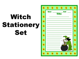 Witch Stationery Set | Documents and Forms | Other Forms