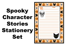 Spooky Character Stories Stationery Set | Documents and Forms | Other Forms