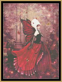 Madame Butterfly - Cross Stitch Pattern | Crafting | Cross-Stitch | Other