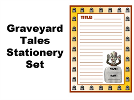 Graveyard Tales Stationery Set | Documents and Forms | Other Forms