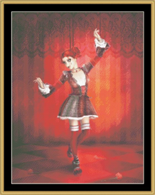 The Marionette - Cross Stitch Pattern | Crafting | Cross-Stitch | Wall Hangings