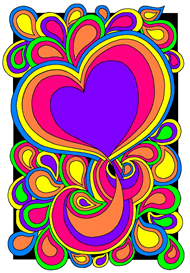 70s Colouring Design | eBooks | Arts and Crafts