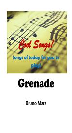 Grenade by Bruno Mars -  Lyrics, Score & Chords, Keyboard / Instrument Notation | Music | Popular