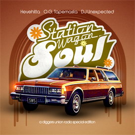 Hevehitta, DJ Unexpected & Tapemasta - Station Wagon Soul