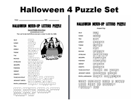 Halloween 4 Puzzle Set | Documents and Forms | Other Forms