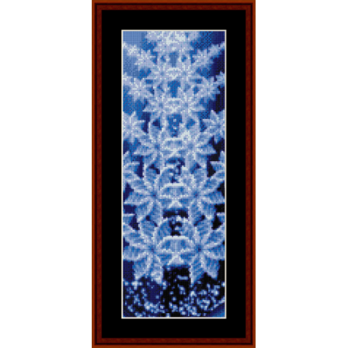 First Additional product image for - Fractal 322 Bookmark cross stitch pattern by Cross Stitch Collectibles