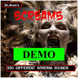 Horror Scream Demo | Music | Soundbanks