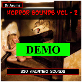Horror Sounds - Volume - 2 | Music | Soundbanks