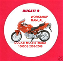 DUCATI MULTISTRADA 1000DS 2003-2008 WORKSHOP MANUAL