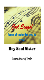 Hey Soul Sister - Bruno Mars Lyrics, Score & Chords, Keyboard / Instrument Notation | Music | Popular