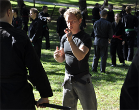 Rob Renner from Sweden Tai Kai 2011 | Movies and Videos | Educational