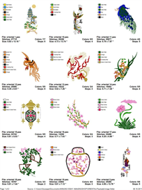 Oriental Embroidery Designs | Other Files | Arts and Crafts