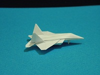 Origami Dollar F-22 w/ Landing Gears Tutorial Video | Crafting | Paper Crafting | Other