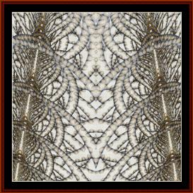 Fractal 316 cross stitch pattern by Cross Stitch Collectibles | Crafting | Cross-Stitch | Wall Hangings