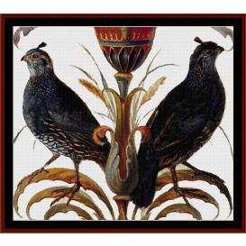 California Quail - Wildlife cross stitch pattern by Cross Stitch Collectibles | Crafting | Cross-Stitch | Wall Hangings